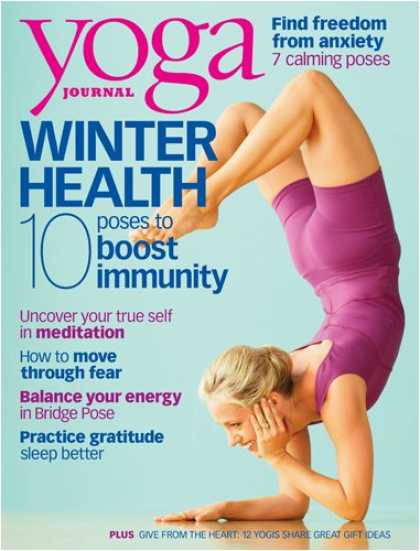 Bestselling Magazines (2008) - Yoga Journal