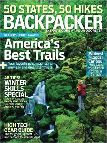 Bestselling Magazines (2008) - Backpacker [1-year]