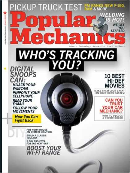 Bestselling Magazines (2008) - Popular Mechanics (5-month)