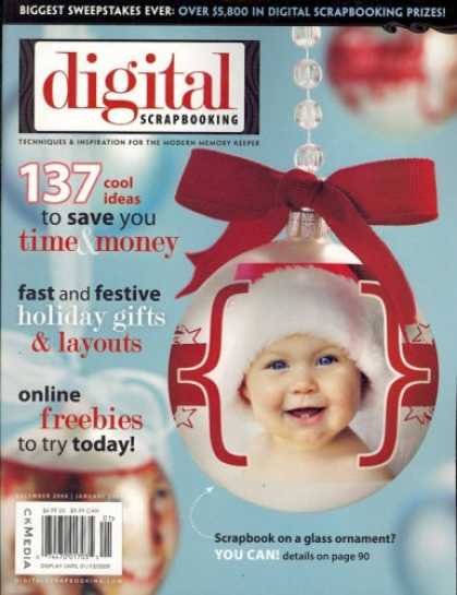 Bestselling Magazines (2008) - Digital Scrapbooking, December/January 2009 Issue