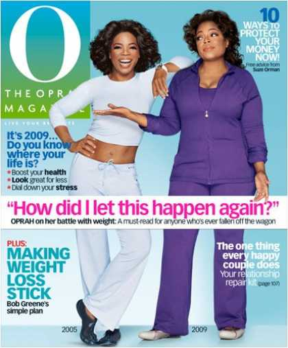 Bestselling Magazines (2008) - O, The Oprah Magazine