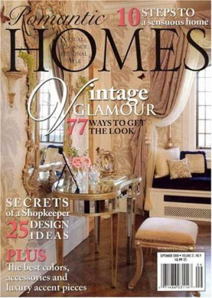 Bestselling Magazines (2008) - Romantic Homes
