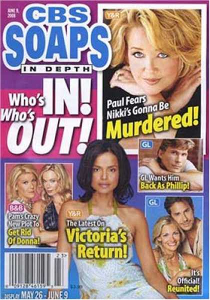 Bestselling Magazines (2008) - Soaps in Depth - CBS