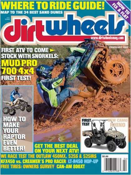 Bestselling Magazines (2008) - Dirt Wheels