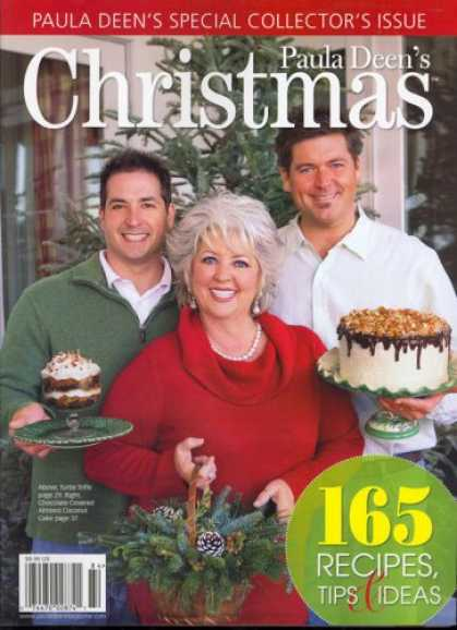Bestselling Magazines (2008) - Paula Deen's Christmas, Special 2008 Issue