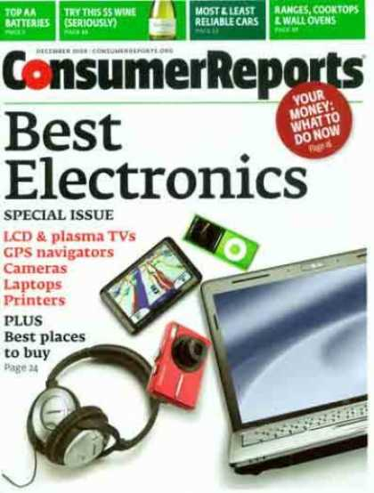 Bestselling Magazines (2008) - Consumer Reports