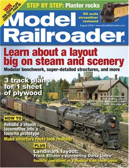 Bestselling Magazines (2008) - Model Railroader