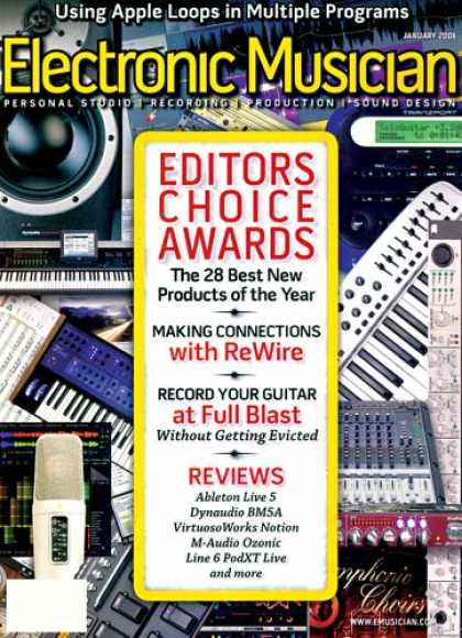 Bestselling Magazines (2008) - Electronic Musician
