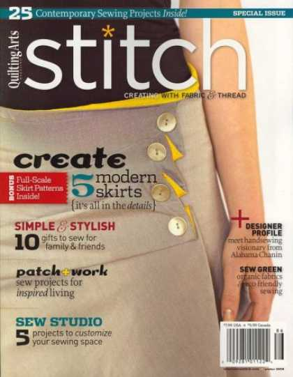 Bestselling Magazines (2008) - Stitch, Winter 2008 Issue