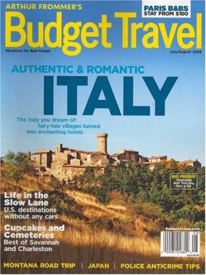 Bestselling Magazines (2008) - Arthur Frommer's Budget Travel