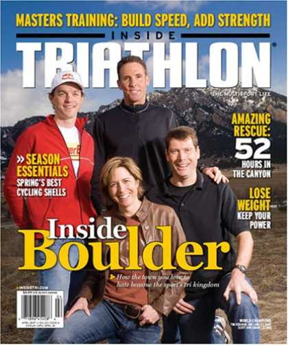 Bestselling Magazines (2008) - Inside Triathlon