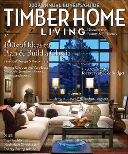 Bestselling Magazines (2008) - Timber Home Living
