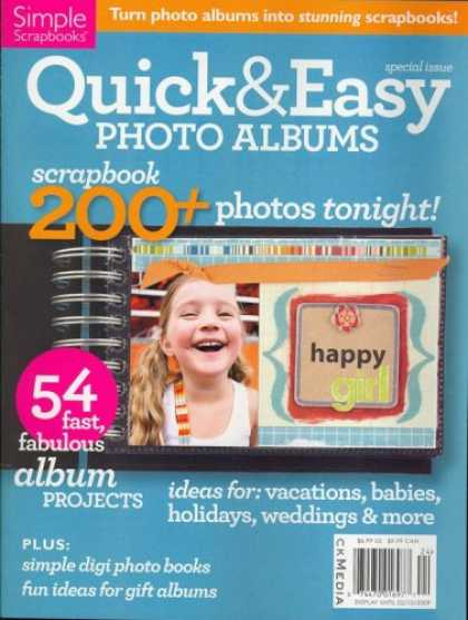 Bestselling Magazines (2008) - Quick & Easy Photo, Special 2009 Issue