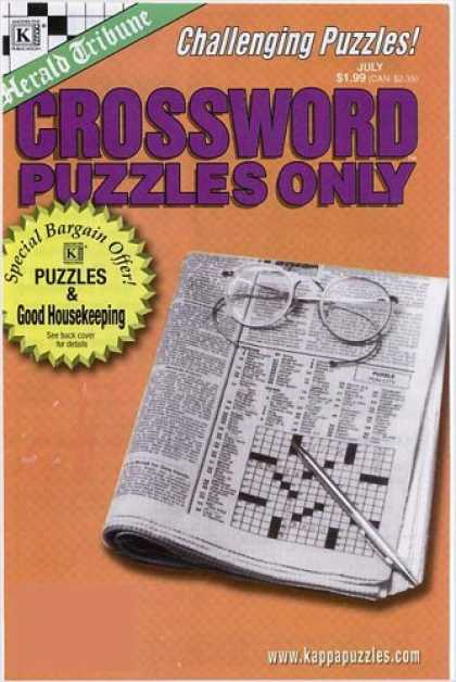 Bestselling Magazines (2008) - Crossword Puzzles Only