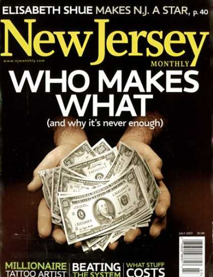 Bestselling Magazines (2008) - New Jersey Monthly