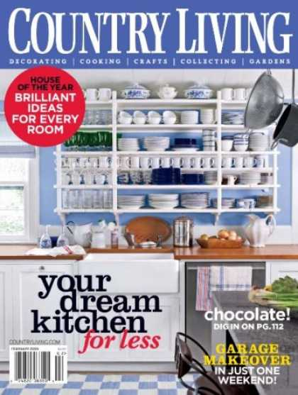 Bestselling Magazines (2008) - Country Living