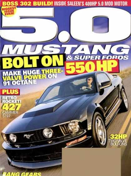 Bestselling Magazines (2008) - 5.0 Mustang & Super Fords