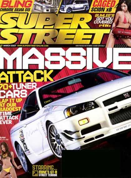 Bestselling Magazines (2008) - Super Street