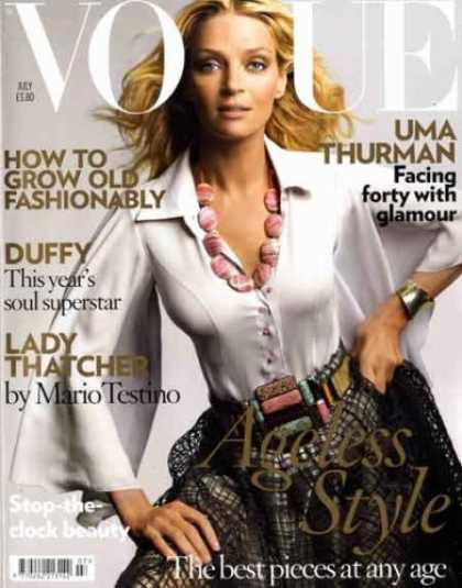 Bestselling Magazines (2008) - Vogue - British Edition