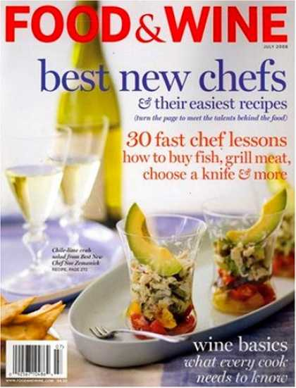 Bestselling Magazines (2008) - Food & Wine