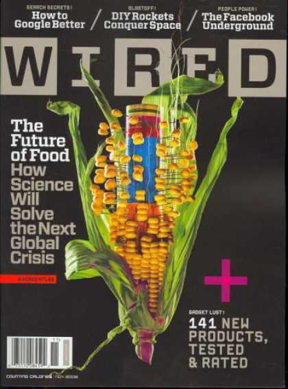 Bestselling Magazines (2008) - Wired, November 2008 Issue