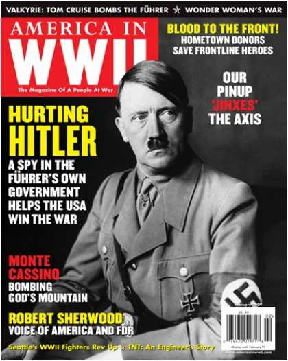Bestselling Magazines (2008) - America in WWII