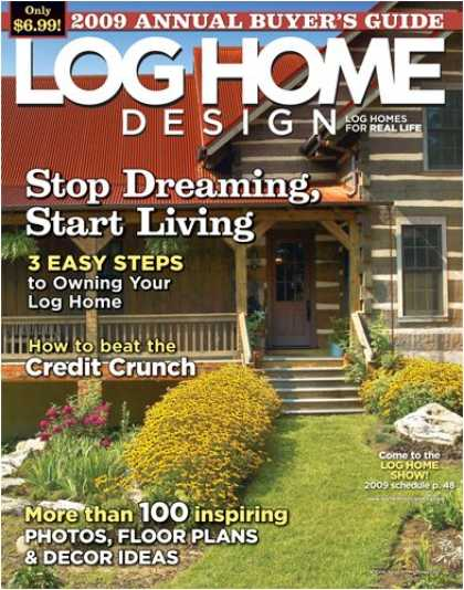 Bestselling Magazines (2008) - Log Home Design