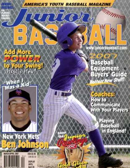 Bestselling Magazines (2008) - Junior Baseball