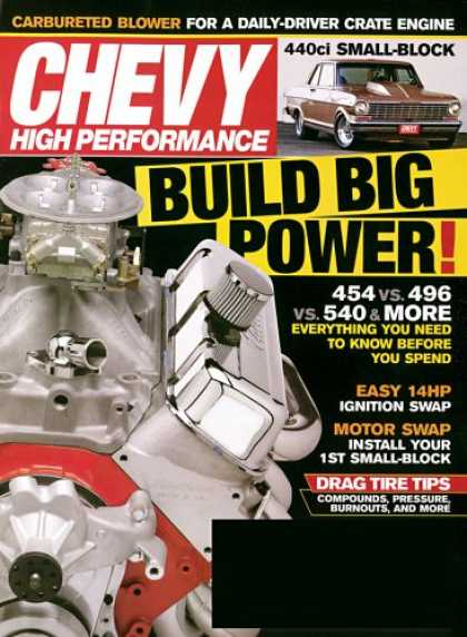 Bestselling Magazines (2008) - Chevy High Performance
