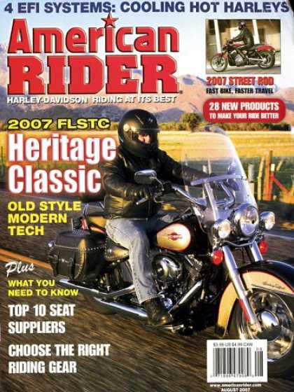 Bestselling Magazines (2008) - American Rider