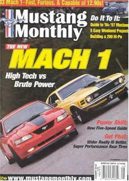 Bestselling Magazines (2008) - Mustang Monthly