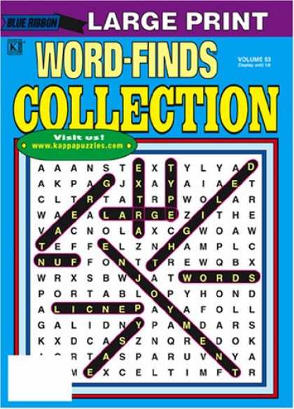 Bestselling Magazines (2008) - Blue Ribbon Word Find