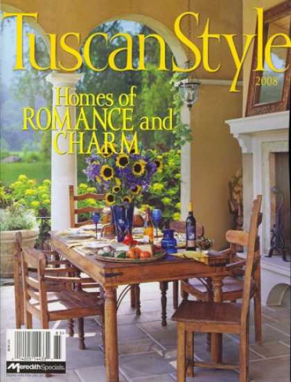 Bestselling Magazines (2008) - Tuscan Style, 2008 Issue