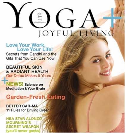 Bestselling Magazines (2008) - Yoga Plus Joyful Living