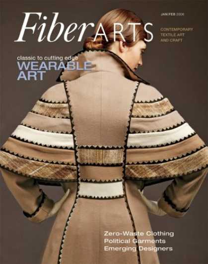 Bestselling Magazines (2008) - Fiberarts : the Magazine of Textiles