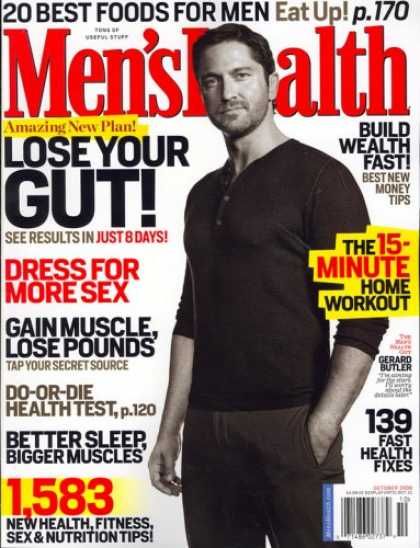 Bestselling Magazines (2008) - Mens Health, October 2008 Issue