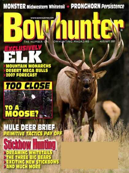 Bestselling Magazines (2008) - Bowhunter