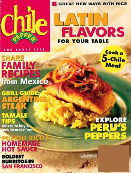 Bestselling Magazines (2008) - Chile Pepper