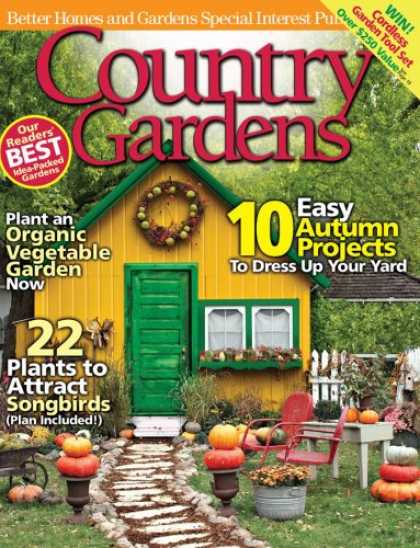 Bestselling Magazines (2008) - Country Gardens