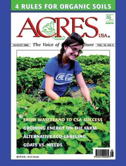 Bestselling Magazines (2008) - Acres U.S.A.