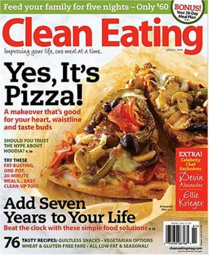 Bestselling Magazines (2008) - Clean Eating