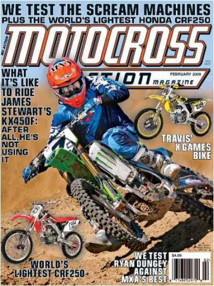 Bestselling Magazines (2008) - Motocross Action Magazine