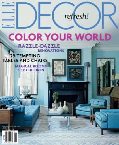 Bestselling Magazines (2008) - Elle Decor