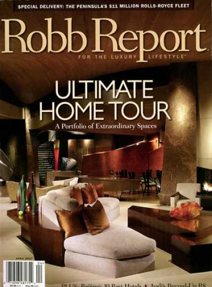Bestselling Magazines (2008) - Robb Report