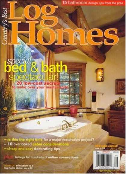 Bestselling Magazines (2008) - Country's Best Log Homes