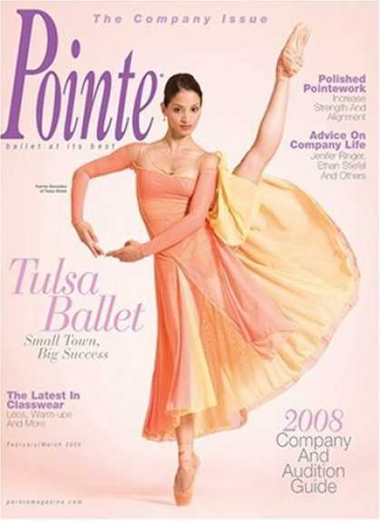 Bestselling Magazines (2008) - Pointe