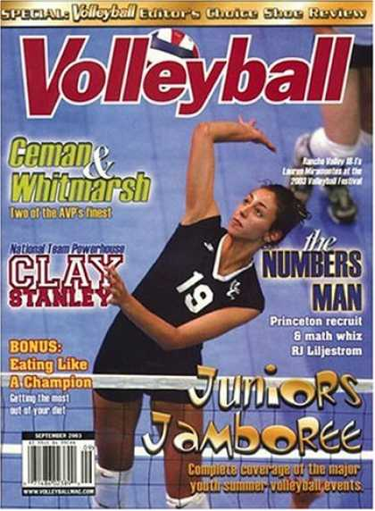 Bestselling Magazines (2008) - Volleyball Magazine