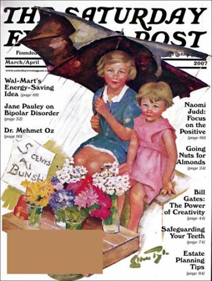 Bestselling Magazines (2008) - The Saturday Evening Post