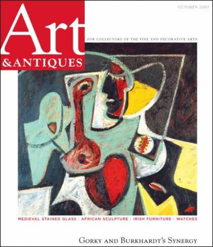 Bestselling Magazines (2008) - Art & Antiques