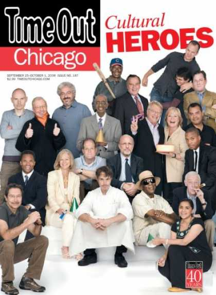 Bestselling Magazines (2008) - Time Out Chicago